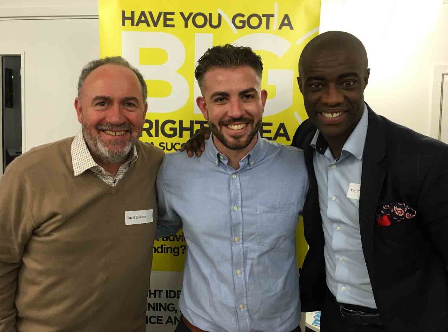 Bright Ideas Trust Club Tim Campbell MBE